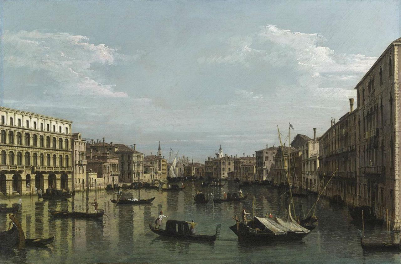 6-Бернардо Беллотто - Вид на Гранд-канал - 1738.jpg