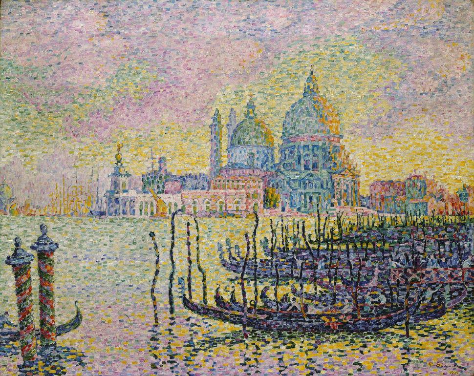 9-Поль Синьяк - Большой канал в Венеции - 1905.jpg