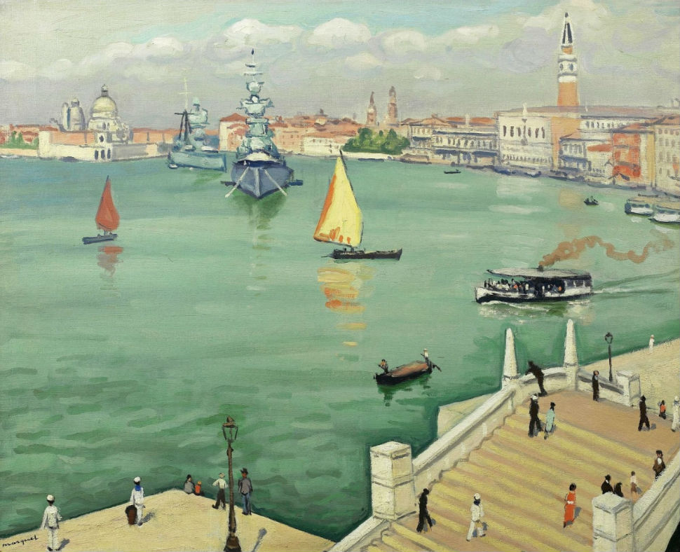 10-Альбер Марке - Большой канал в Венеции - 1936.jpg