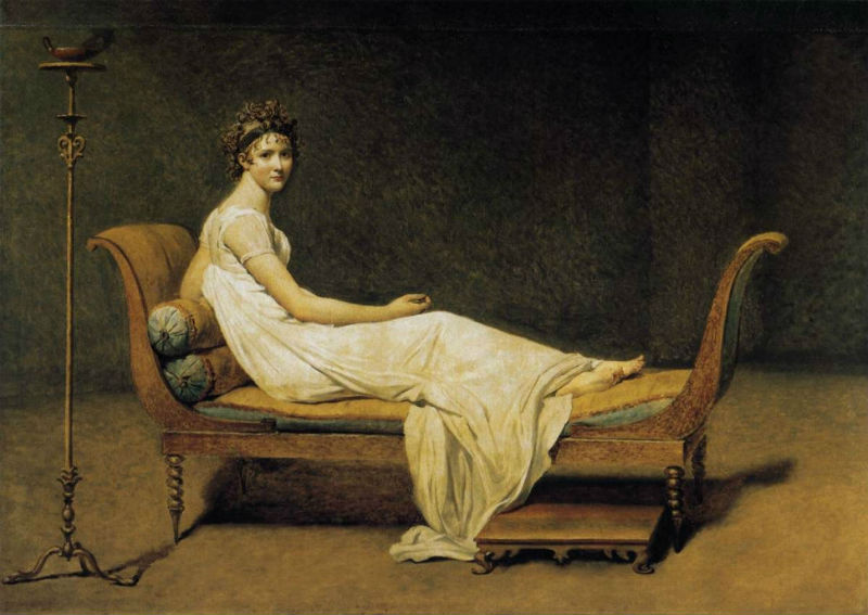 3-Жак-Луи Давид - Портрет мадам Рекамье - 1800.jpg