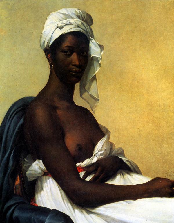 8-Мари Гийемин Бенуа - Портрет негритянки - 1800.jpg