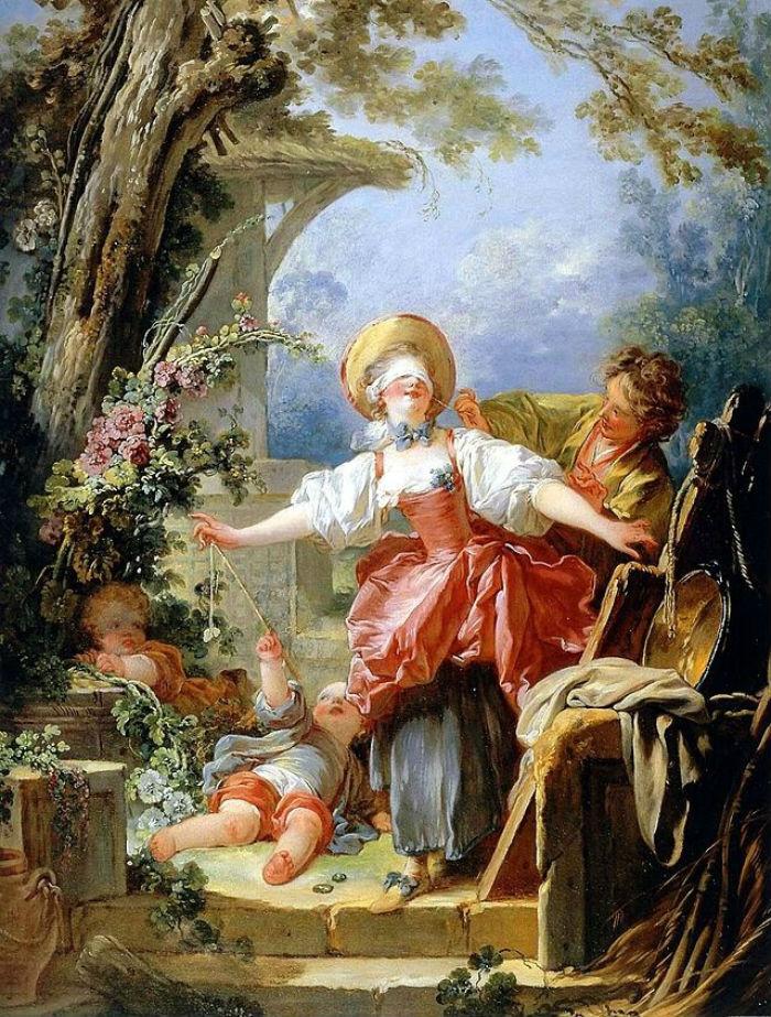 11-Жан Оноре Фрагонар - Игра в жмурки - 1751.jpg