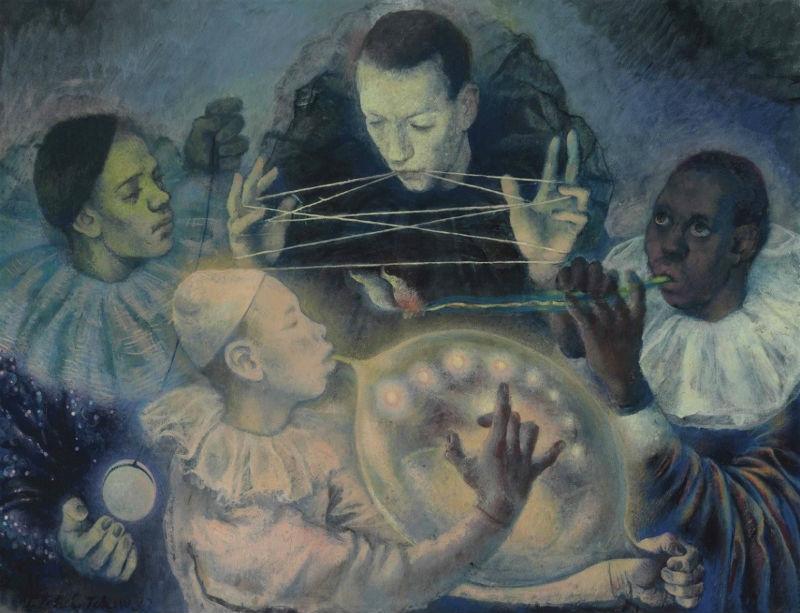 15-Павел Фёдорович Челищев - Концерт - 20 век.jpg