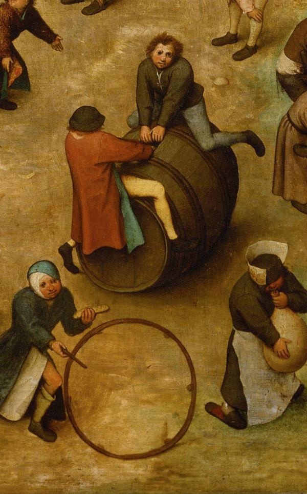 16-Питер Брейгель Старший - Игры детей Фрагмент 17 - 1560.jpg