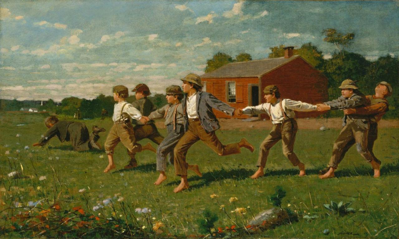 Уинслоу Хомер - Щелчок кнутом - 1872.jpg