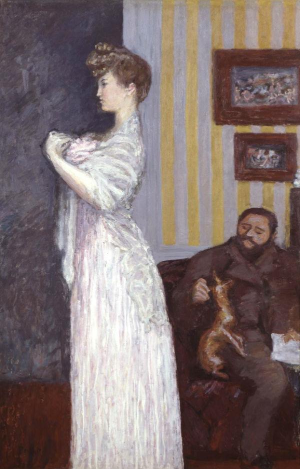 9-Пьер Боннар - Мизиа и Таде Натансон - 1906.jpg