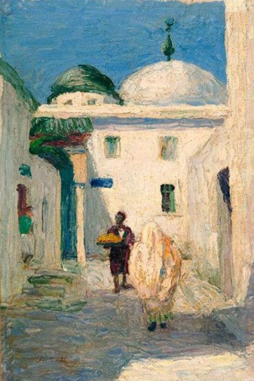 15-Габриэль Мюнтер - Мечеть в Тунисе - 1905.jpg