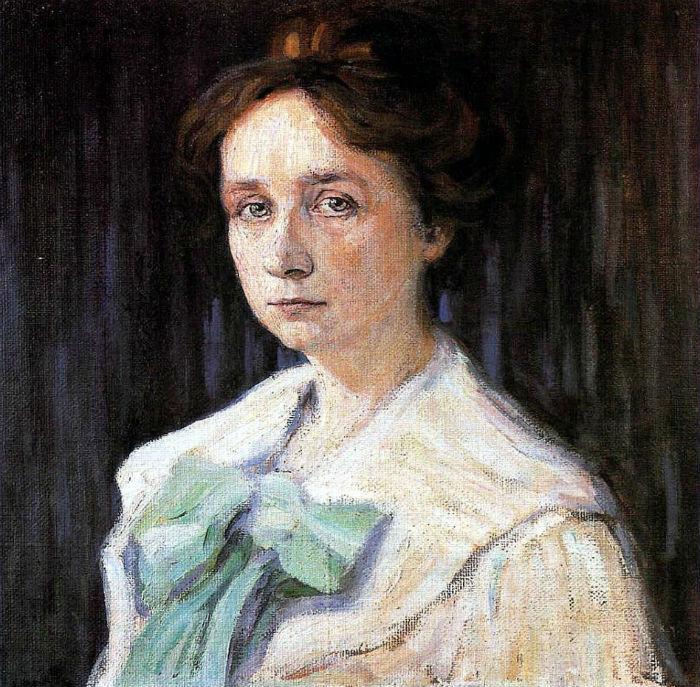21-Портрет Габриэль Мюнтер - 1905.jpg