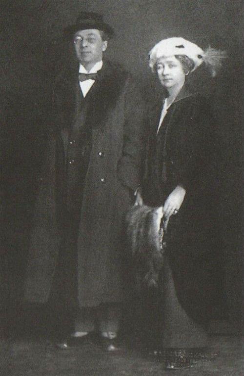 62-Василий Кандинский и Габриэль Мюнтер в Стокгольме - Зима 1916.jpg