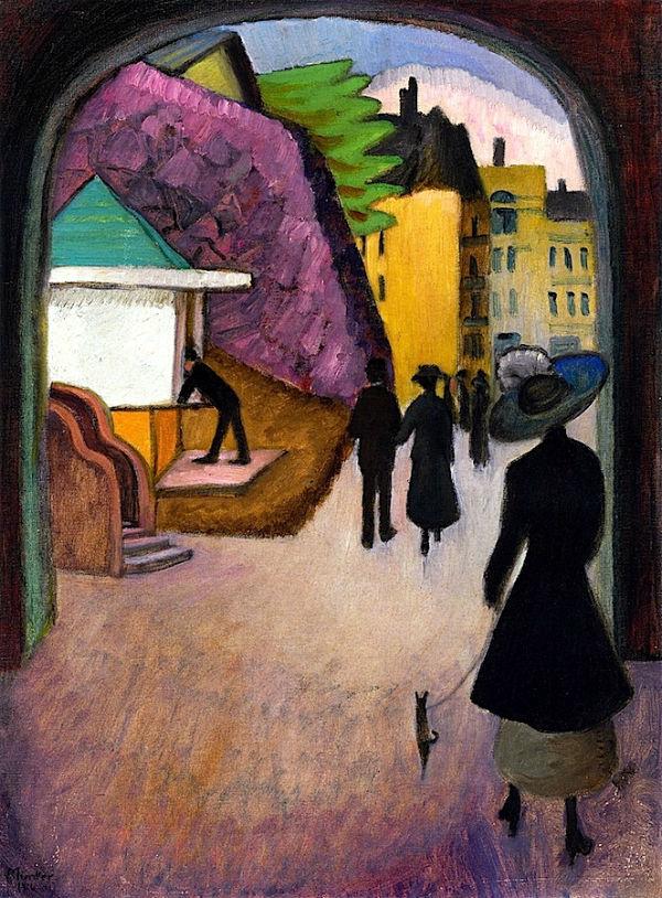 63-Габриэль Мюнтер - Майский вечер в Стокгольме - 1916.jpg