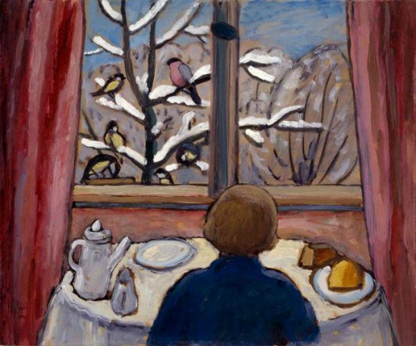 69-Габриэль Мюнтер - завтрак с птицами - 1934.jpg