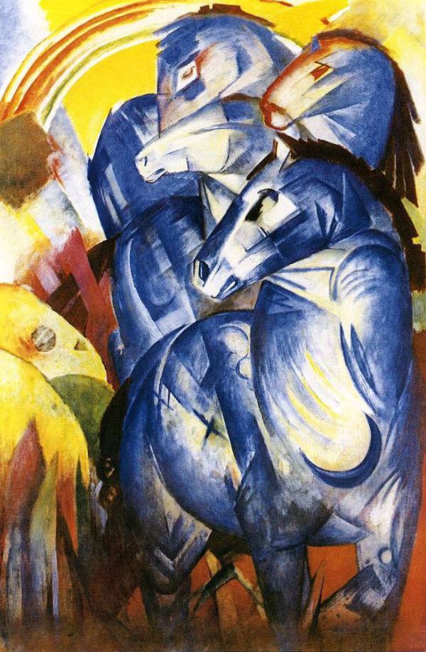 10-Франц Марк - Башня синих лошадей - 1913.jpg