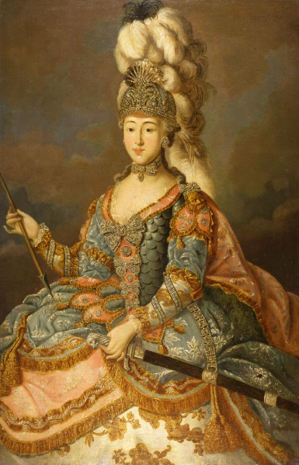 2-Иоанн Лигоцкий - Портрет графини А П Шереметевой - 1769.jpg