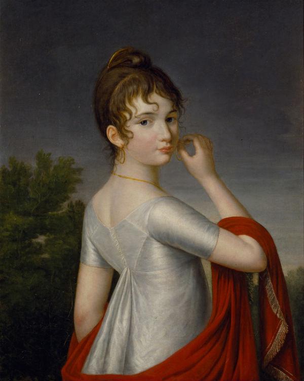 4-Екатерина Долгорукая - Автопортрет - 1800-е.jpg