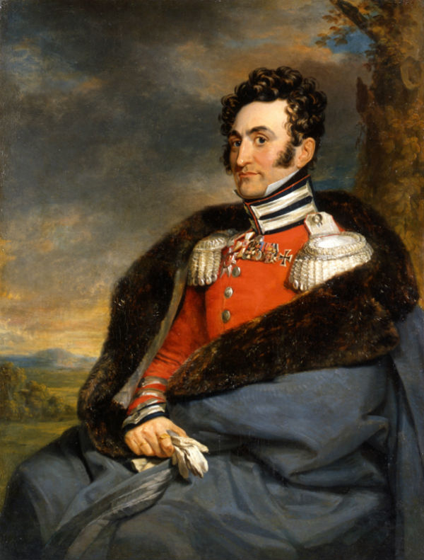 6-Джордж Доу - Портрет В И Каблукова II - Не позднее 1825.jpg