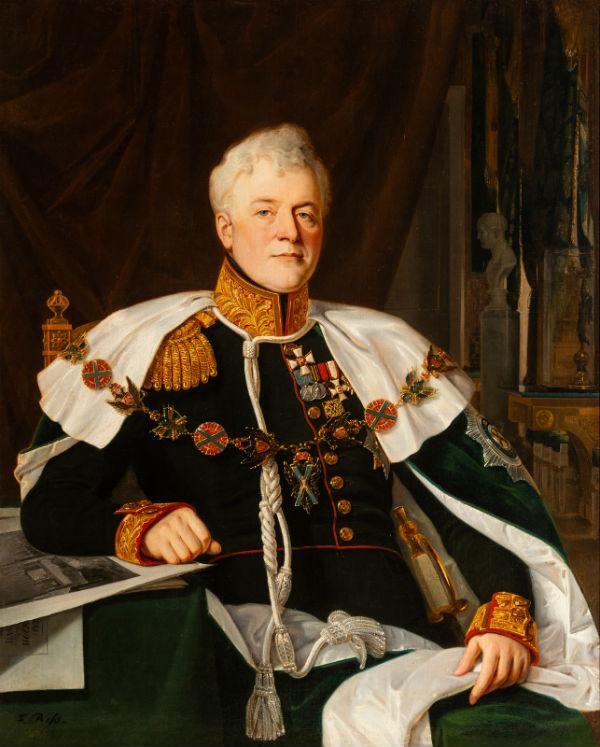 7-Франц Рисс - Портрет светлейшего князя Д В Голицына - 1835.jpg