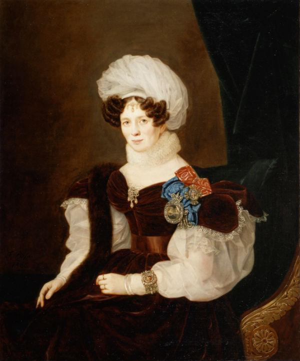 8-Франц Рисс - Портрет светлейшей княгини Т В Голицыной - 1835.jpg