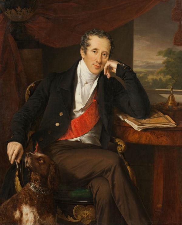11-Василий Тропинин - Портрет графа Н П Панина - 1830-е.jpg