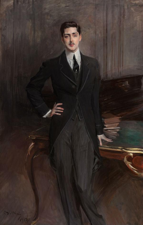 14-Джованни Больдини - Портрет графа С П Зубова - 1913.jpg