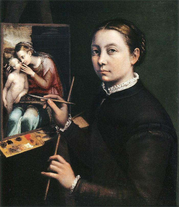 Софонисба Ангиссола - Автопортрет - 1556.jpg