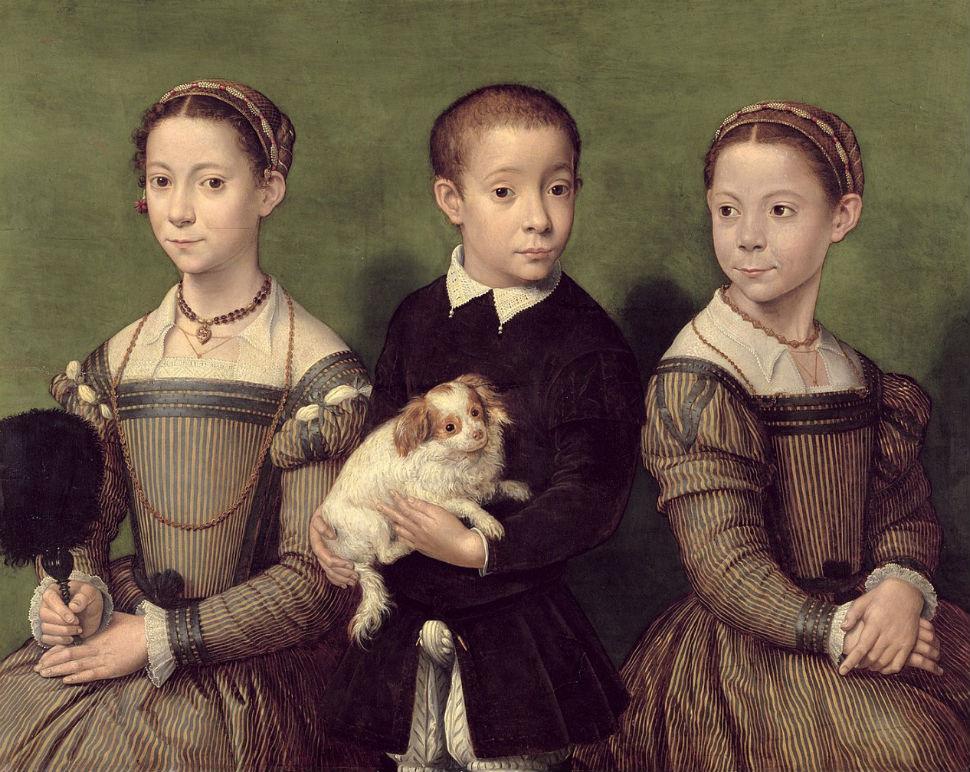 Трое детей с собачкой.jpg