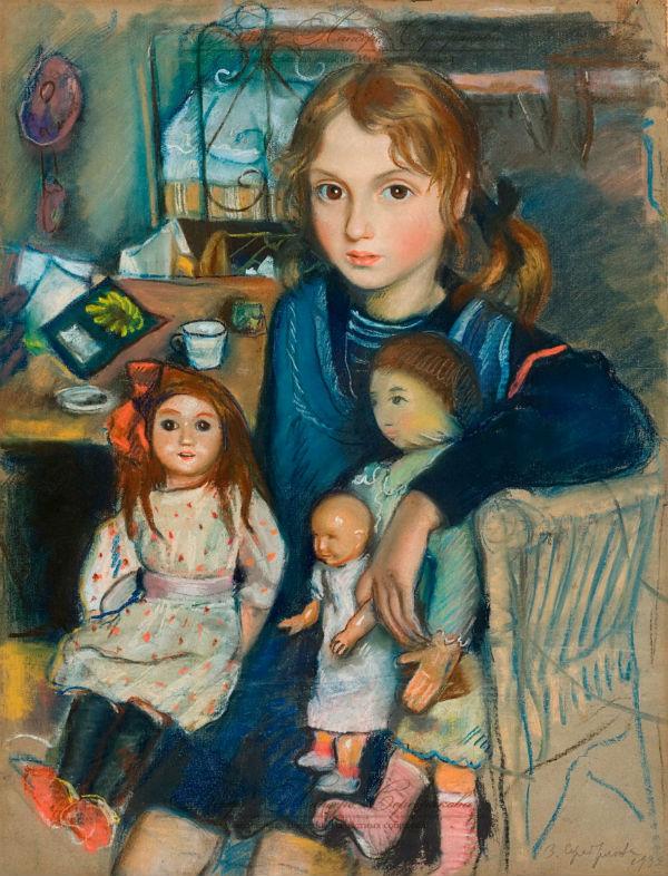 3-Дочка Катя с куклами.jpg