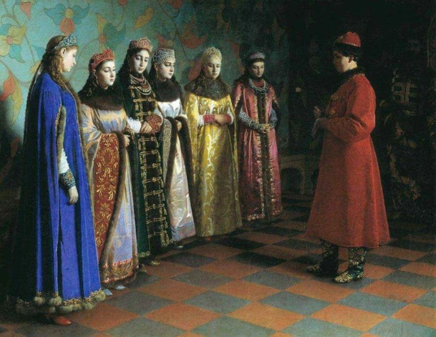Выбор невесты царем Алексеем Михайловичем.jpg