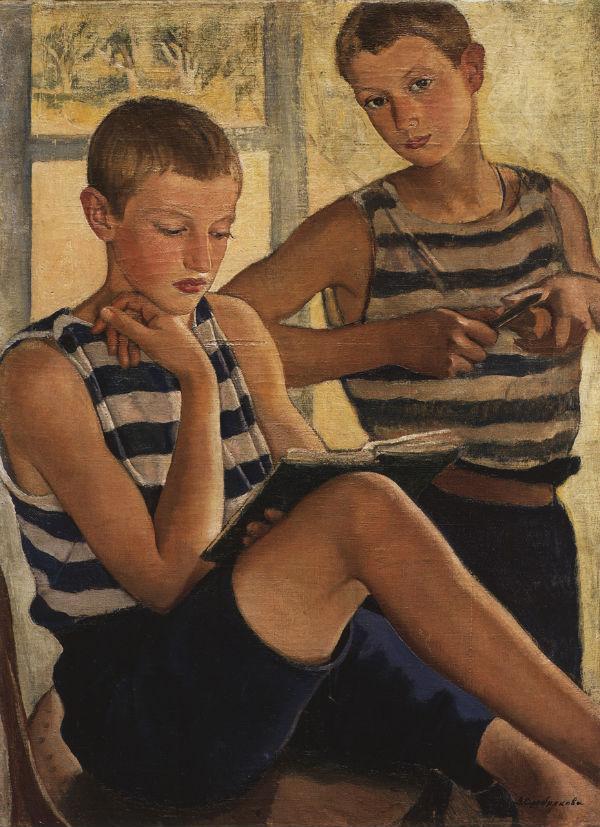 8-Мальчики в матросских тельняшках - 1919.jpg