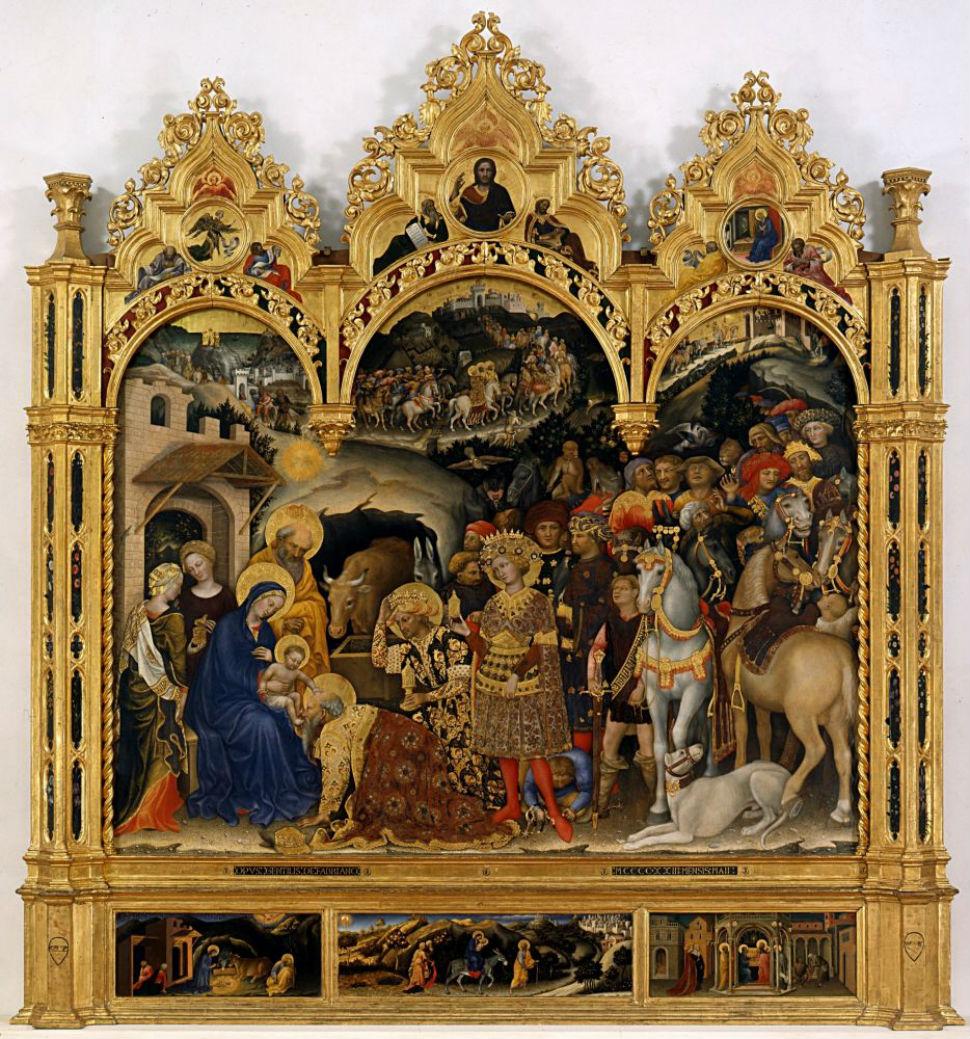3-Поклонение волхвов - Джентиле да Фабриано.jpg