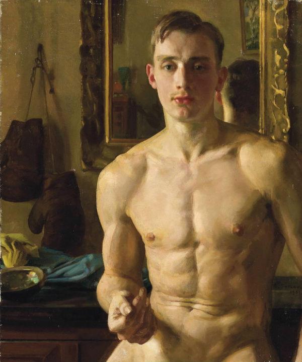 Боксер Борис Снежковский - 1933.jpg