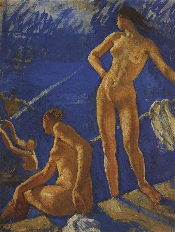3-Купание - 1917.jpg