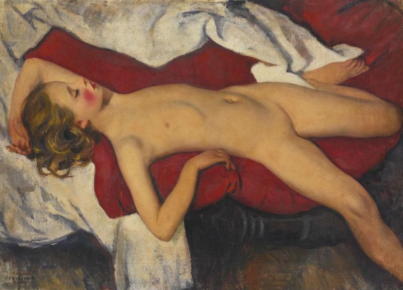 4-Спящая девочка - 1923.jpg