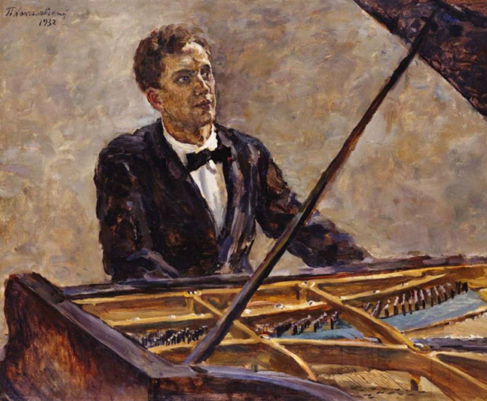 Пётр Кончаловский - Портрет Владимира Софроницкого - 1932.jpg