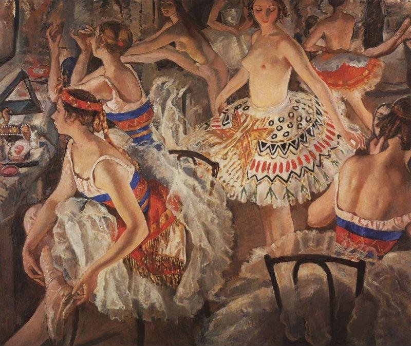 1-Балетная уборная - Большие балерины - 1922.jpg