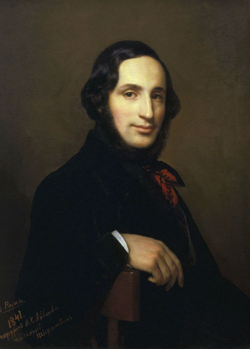 Алексей Васильевич Тыранов (1808-1859) - Портрет Ивана Айвазовского - 1841.jpg