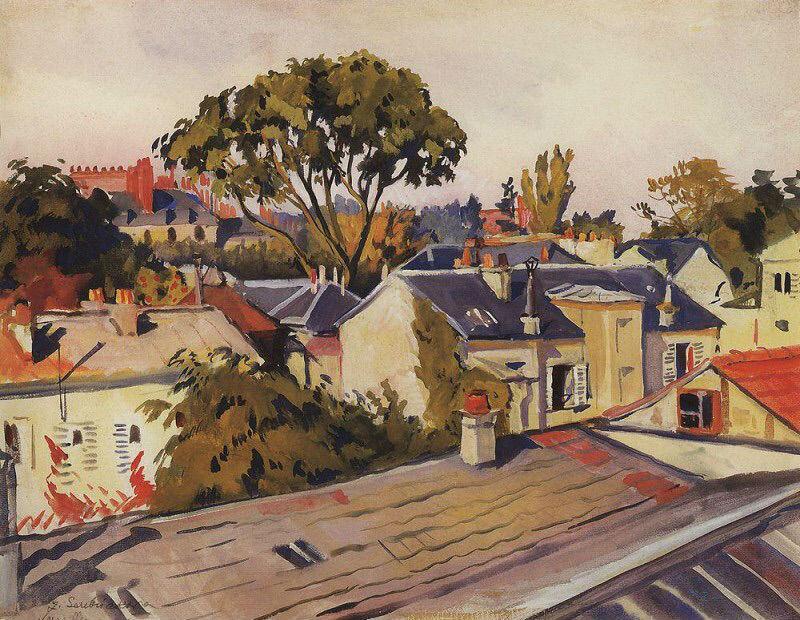 1-Версаль - Крыши города - 1924.jpg