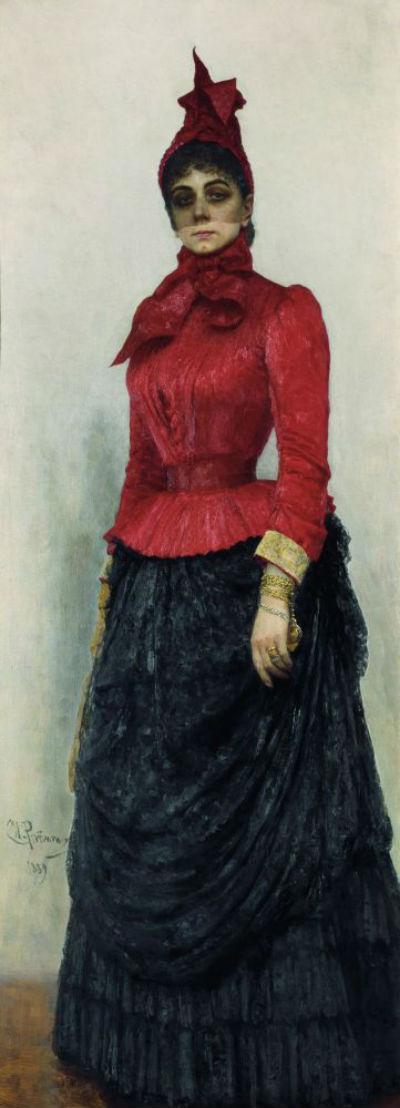 Илья Ефимович Репин - Портрет баронессы В. И. Икскуль фон Гильденбандт - 1889.jpg