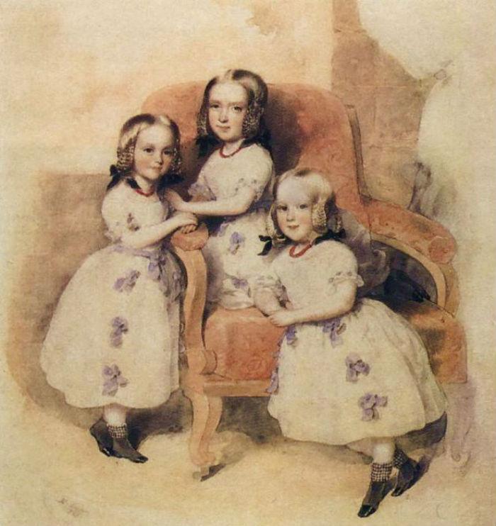 Дети Екатерины Гончаровой и Жоржа Дантеса.jpg