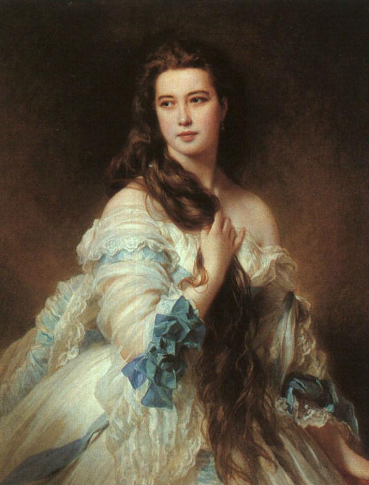 Франц Хавьер Винтерхальтер - Портрет Варвары Римской-Корсаковой - 1864.jpg