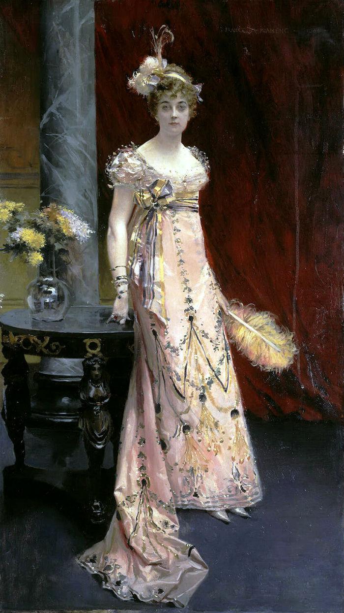 Фламенг Франсуа - Портрет герцогини Доры Евгеньевны Лейхтенбергской.jpg