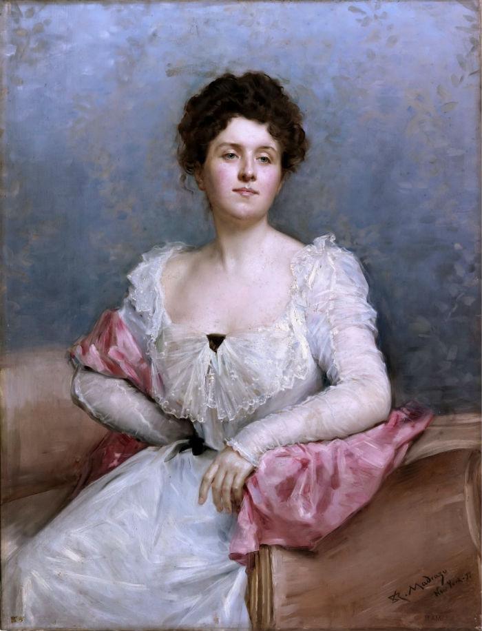 Раймундо де Мадрасо и Гаррета  (1841-1920) - Портрет дамы.jpg