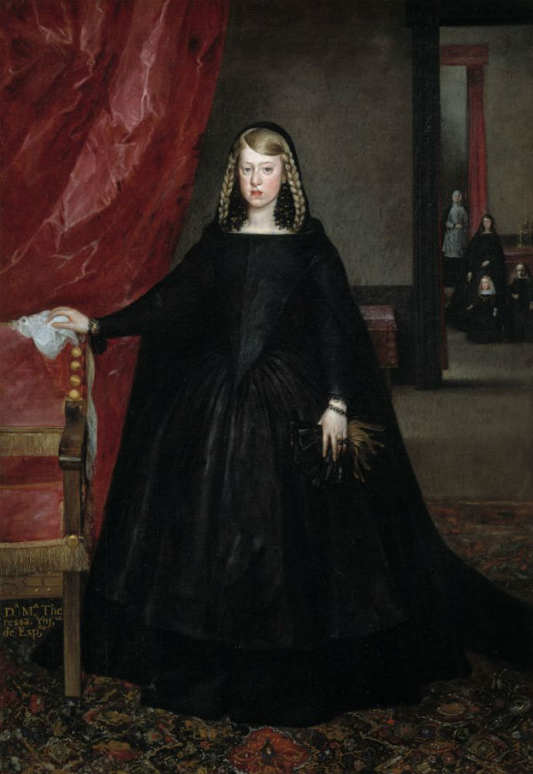 4-Хуан Батиста Мартинес дель Масо - Донья Маргарита Австрийская - 1666.jpg