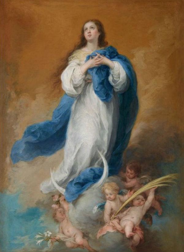 16-Бартоломе Эстебан Мурильо - Непорочное зачатие -  1680.jpg