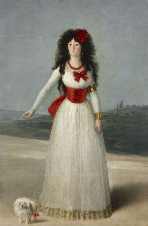 23-Франсиско Гойя - Портрет Марии Терезы Кайетана де Сильва герцогини Альба - 1795.jpg