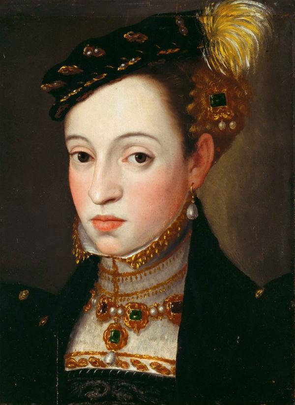 Эрцгерцогиня Магдалена Австрийская дочь Фердинанда I.jpg