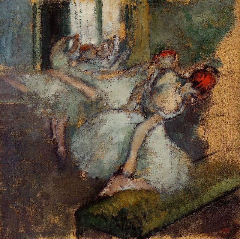Эдгар Дега - Балерины - 1900 - National Gallery London UK.jpg