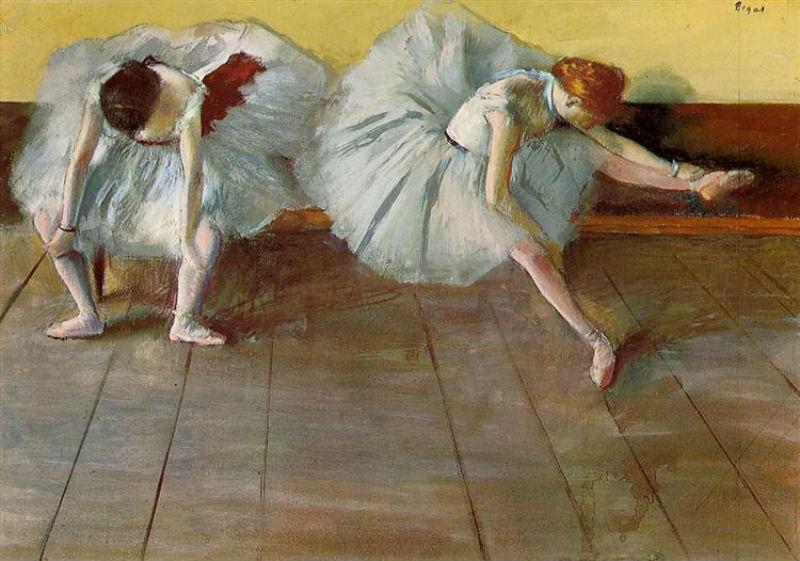 Эдгар Дега - Две балерины.jpg