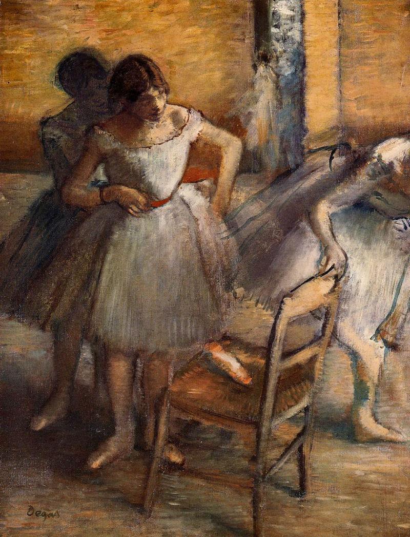 Эдгар Дега - Танцовщицы - 1900.jpg
