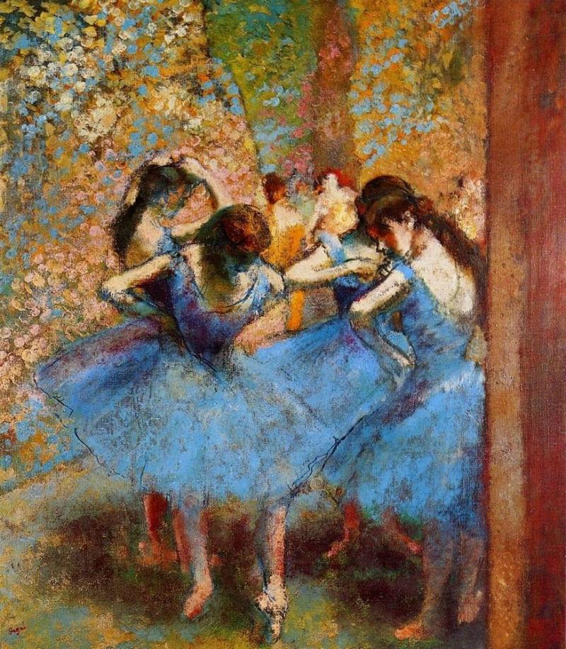 Эдгар Дега - Танцовщицы в голубом.jpg