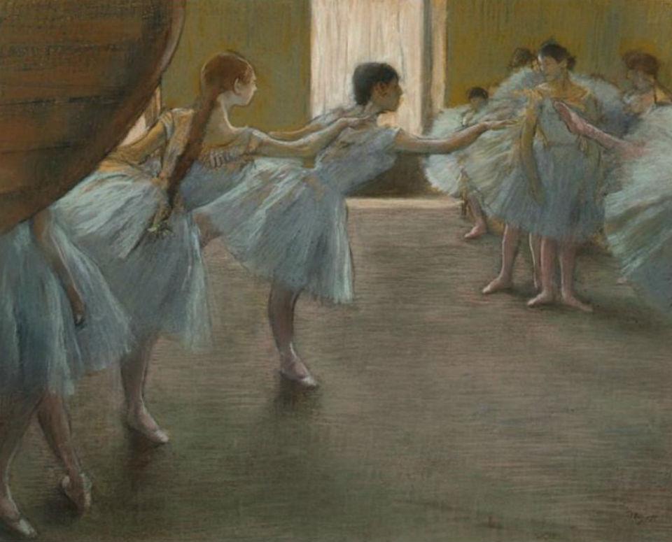Эдгар Дега - Танцовщицы на репетиции.jpg